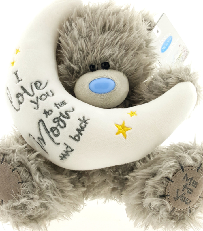 Me to You. I Love You to the Moon and Back beertje. 20 cm.