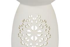 Porseleine houder smeltblokjes, mozaïek motief