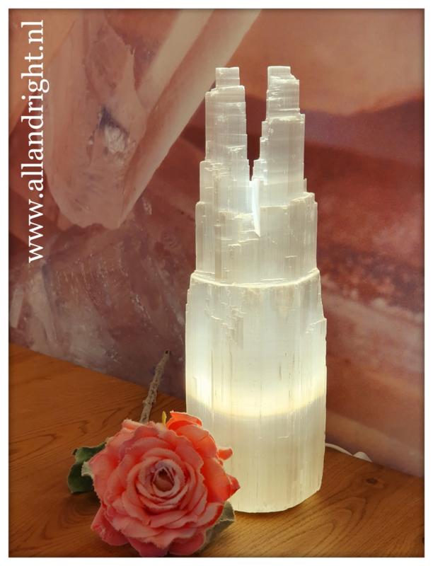 Seleniet lamp Twin tower