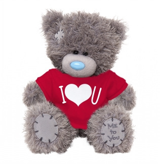 Me to You. I Love You beertje, 13 cm