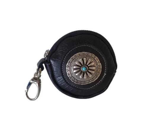 Bindo  zwart croco portemonnee