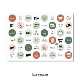 Stickervel #13