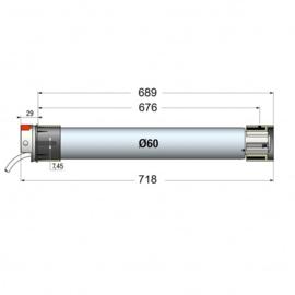 Simu Buismotor T6 (40Nm - 120Nm)