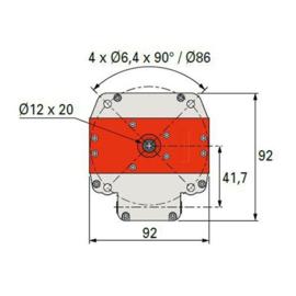 Simu Buismotor T6 DMI (40Nm - 120Nm)