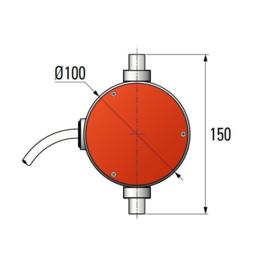 Simu Buismotor T9 (300Nm - 800Nm)