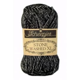 Scheepjes Stone Washed XL 50 gr - 843 Black Onyx