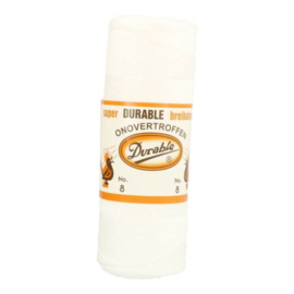 Durable Breikatoen wit nr. 8