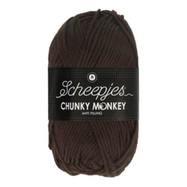 Scheepjes Chunky Monkey -100g- 1004 Chocolate