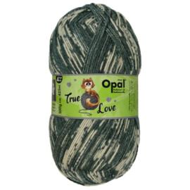 Opal True Love 4-draads 100g  9861 Ecru, Grijs, Beige