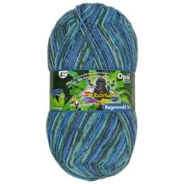 Opal Regenwald 16 4-draads 100g  9903 Blauw, Paars, Grijs