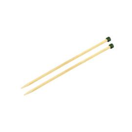 KnitPro Bamboo Breinaalden met knop 25cm