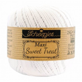 Scheepjes Maxi Sweet Treat 25 gr - 106 Snow White