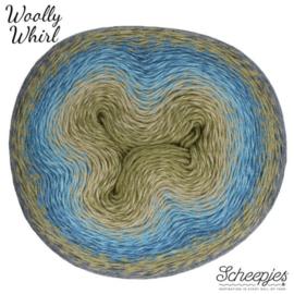 Scheepjes Woolly Whirl -215-225g- 473 Kiwi Drizzle