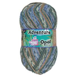 Opal Adventure 4-draads 100g - 9825