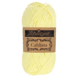 Scheepjes Cahlista  50 gr - 100 Lemon Chiffon