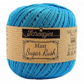Scheepjes Maxi Sugar Rush 50 gr - 146 Vivid Blue