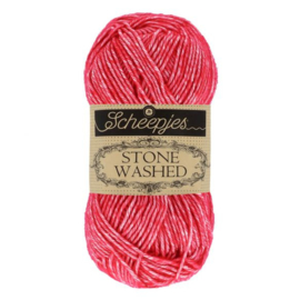Scheepjes Stone Washed 50 gr - 807 Red Jasper
