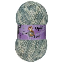 Opal True Love 4-draads 100g  9867 Ecru, Grijs, Beige