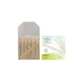 KnitPro Bamboo Sokkennaalden set 20cm