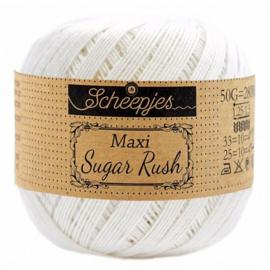 Scheepjes Maxi Sugar Rush 50 gr - 105 Bridal White