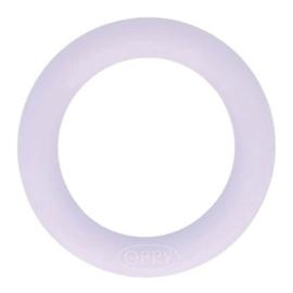 Opry Siliconen bijtring rond 65mm - 187 licht paars