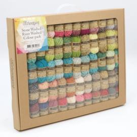 Scheepjes StoneWashed-RiverWashed Colour Pack 58x10g