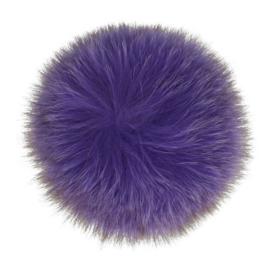 Pom-pon fluffy 10,5cm 2stuks