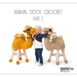 Animal stool crochet part 3 - Anja Toonen