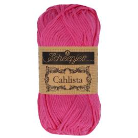 Scheepjes Cahlista 50 gr - 114 Shocking Pink