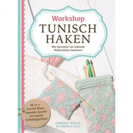 Workshop Tunisch haken - Gabrielle M. en Andrea L
