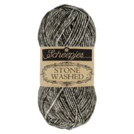 Scheepjes Stone Washed 50 gr - 803 Black Onyx
