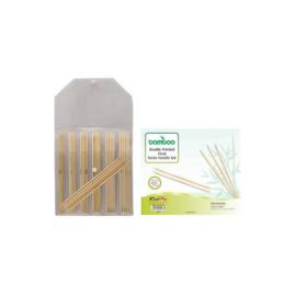 KnitPro Bamboo Sokkennaalden set 15cm