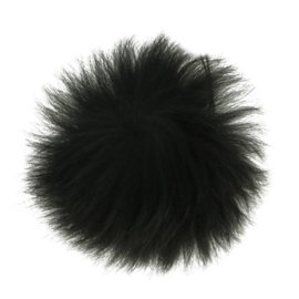 Pom-pon fluffy 10,5cm 2 stuks