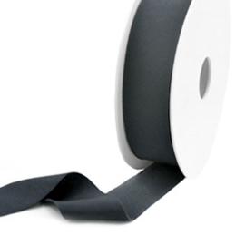 Elastisch lint Ibiza 25mm Anthracite grey 1 meter