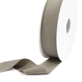 Elastisch lint Ibiza 25mm Metallic taupe 1 meter