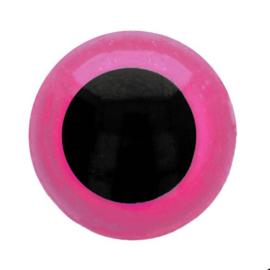 Dierenogen - veiligheidsogen tweekleurig 6mm