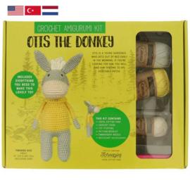 Tuva Haakpakket amigurumi Otis the Donkey