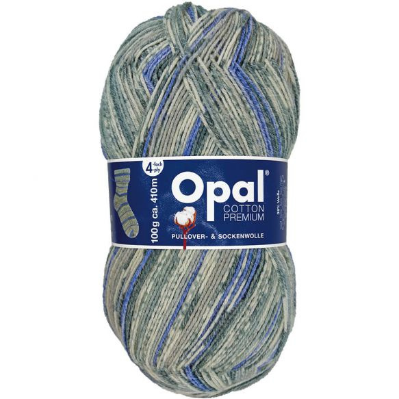 Opal Cotton Premium 2020 4-draads 100g - 9843