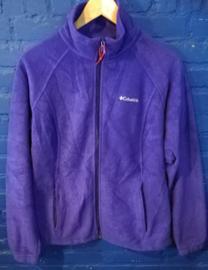 Fleece vest purple. Size:L