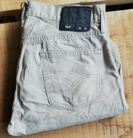 Levi's beige 514 jeans  W 34/32