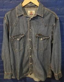 Denim buttoned shirt. LEE Size: M