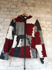 Knitted wool coat - Size M