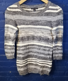 Blue rayed Top Tommy Hilfiger Size: XS