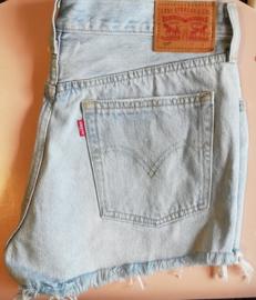 Levi's shorts pale blue Size W29