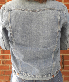 Denim jacket Size:  S/M