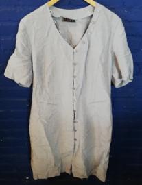 Light blue buttoned dress Size: XL