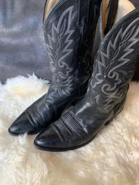 Cowboy boots black size 44,5. Dan Post.