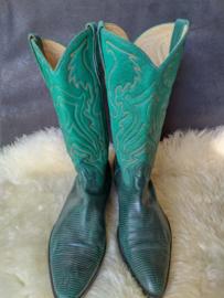 Green cowboy boot size: 42
