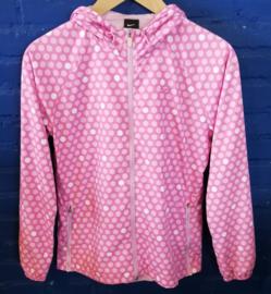 Pink polkadot jacket Size M