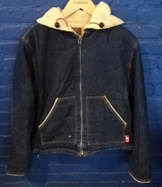 Lined denim hoodie - Size L